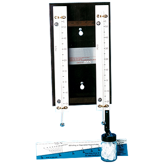 Wet & Bry Bulb Hygrometer Slide Rule 58